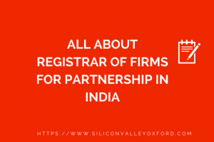 Registrar of Firms for Partnership in India