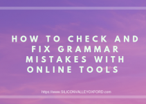 Fix Grammar Mistakes With Online Tools